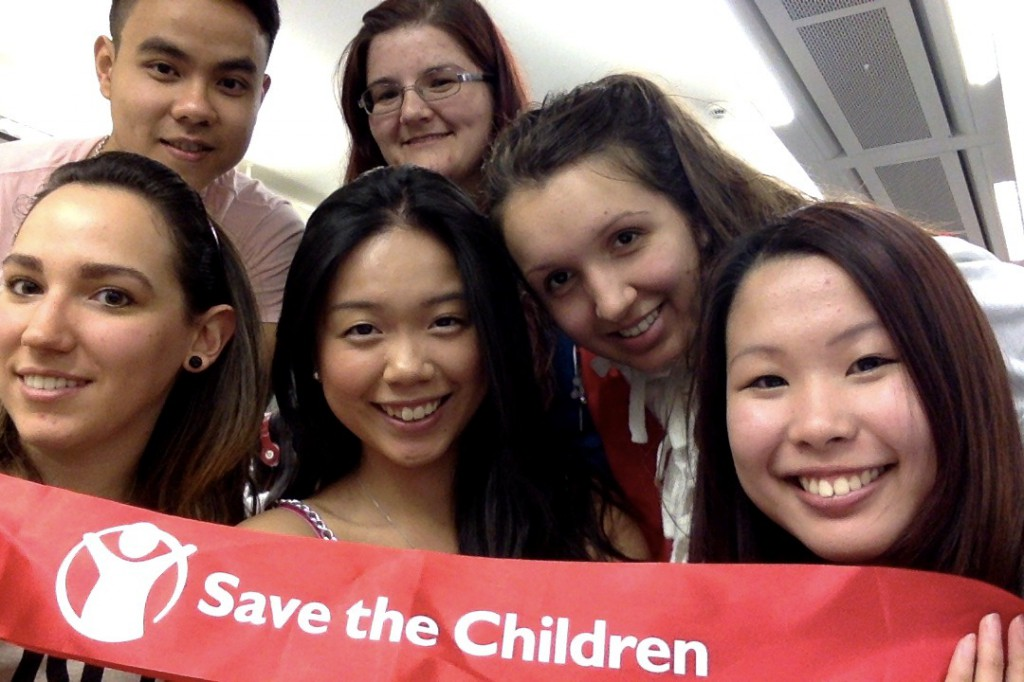 Save the Children - group photo