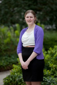 Rachel Taylor, last year's winner of the EY 'Enterprise in the Community' Prize