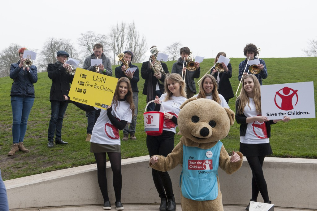 Fundraising campaign for Save the Children