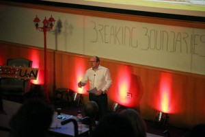 Herve at the University of Nottingham TEDx event on 15th March 2015
