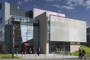 The newly formed Gas Turbine & Transmissions Research Centre (G2TRC) will host an ATI-funded national transmissions testing facility in this new building, next to the ATC on UNIP, the University of Nottingham innovation campus