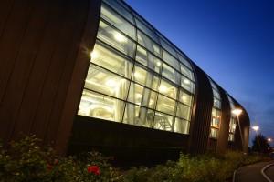 The Aerospace Technology Centre (ATC), home to the IAT on The University of Nottingham Innovation Park (UNIP)