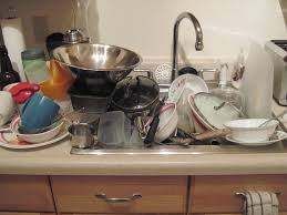 self catered dirty dishes