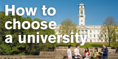How to choose a uni 5