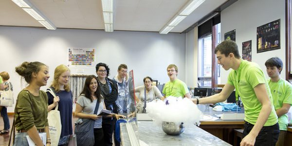 An open day will give you the chance to see what cool tings you'll be doing on your course....