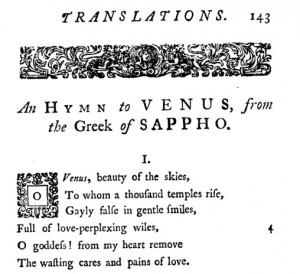 Page of 1748 translation
