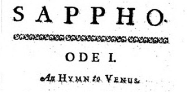 Title page from 1713 translation