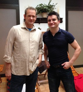 Mark and Alexander Armstrong