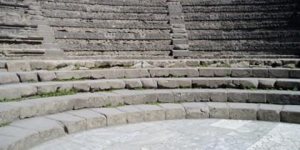 Odeon, Pompeii, by Lynn Fotheringham.