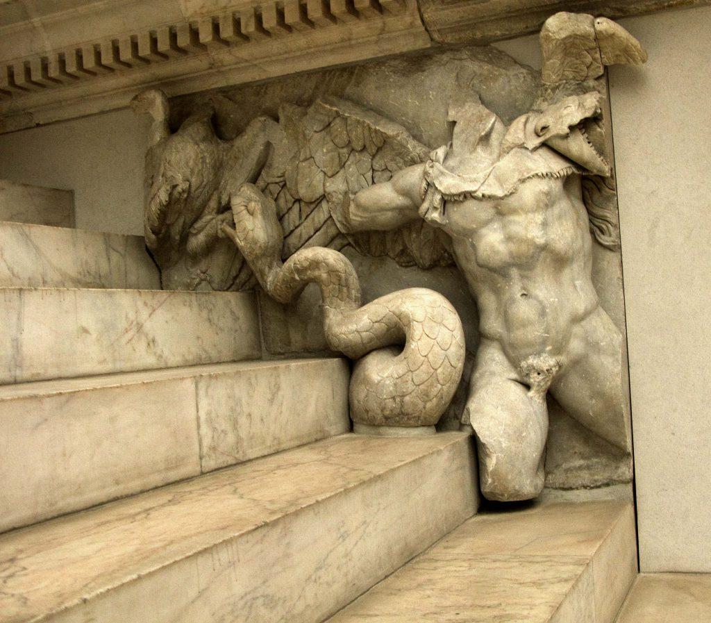 Fig. 2. Bronteas on the Pergamon Altar