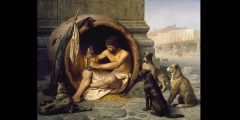 miniJean-Léon_Gérôme_-_Diogenes_-_Walters_37131