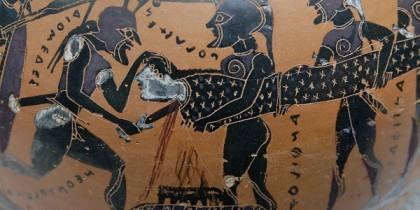 Polyxena's sacrifice