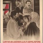 Family thanking Stalin