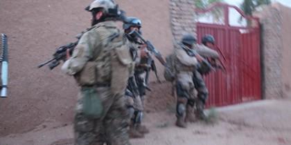 US Marines in Afghanistan