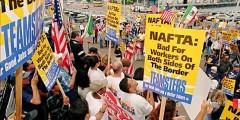 GDT NAFTA protest