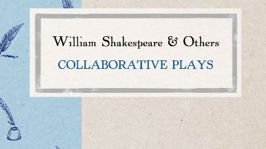 a discussion of the existence of william shakespeare The complete works of william shakespeare, and: william shakespeare home pages that exist on william shakespeare discussion area is arranged by.