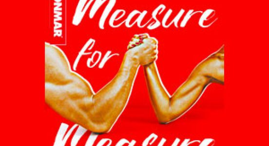 Measure for Measure publicity art