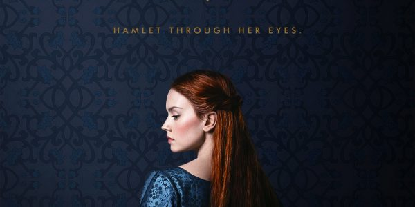 Poster for Ophelia, featuring a woman facing away with head turned partly towards the camera.