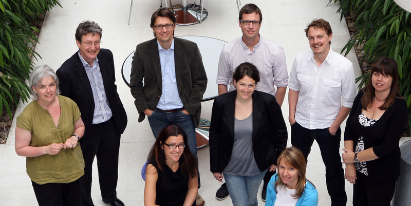Group photograph of the ICCSR team.