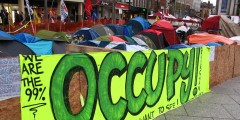 Image of the Occupy Nottingham Protest