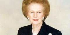 Portrait of Margaret Thatcher