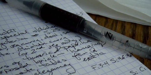 Research Notes and Pen