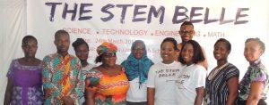 Members of the STEM BELLE team