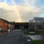 rainbow at the farm