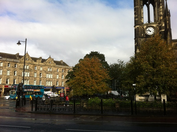 A photograph of Newcastle City Centre, 2013