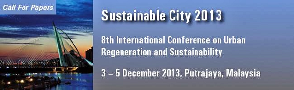 Sustainable City 2013 conference logo
