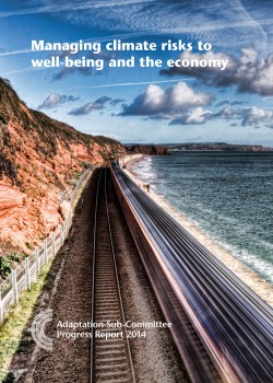 Managing climate risks to well-being and the economy: ASC progress report 2014