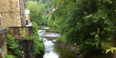 A photograph of Hebden Bridge