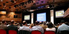A photograph of participants at the 2014 FCERM.net Annual Assembly, Edinburgh, Scotland.
