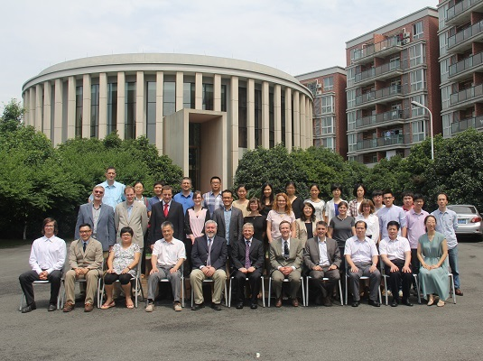 A photograph of participants in the Ningbo Knowledge Exchange Workshop (June 2015)