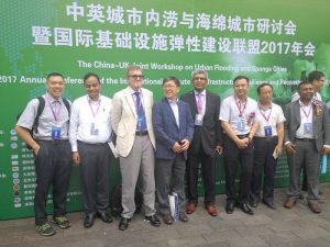 Delegates at the conference, including research team members Professor Wright, Dr Chan and Dr Ahilan