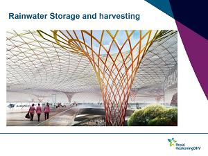 Slide from Ogunyoye's presentations on urban flood resilience