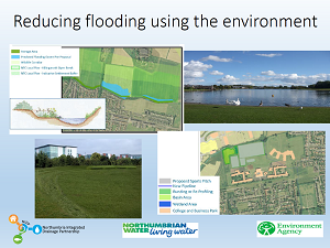 Slide from Warneford and Huntington's presentation on the Killingworth and Longbenton project