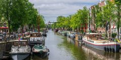 Amstedam canals (image credit: Daniel Dunn, 2019)
