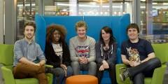 Student video team blog photo