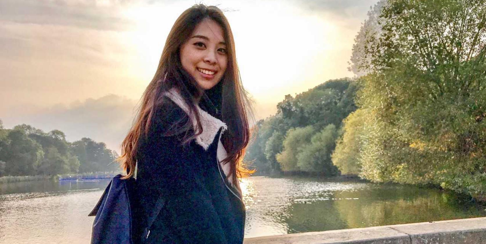 Photograph of alumna Joey