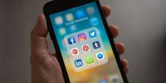 Social medias including LinkedIn
