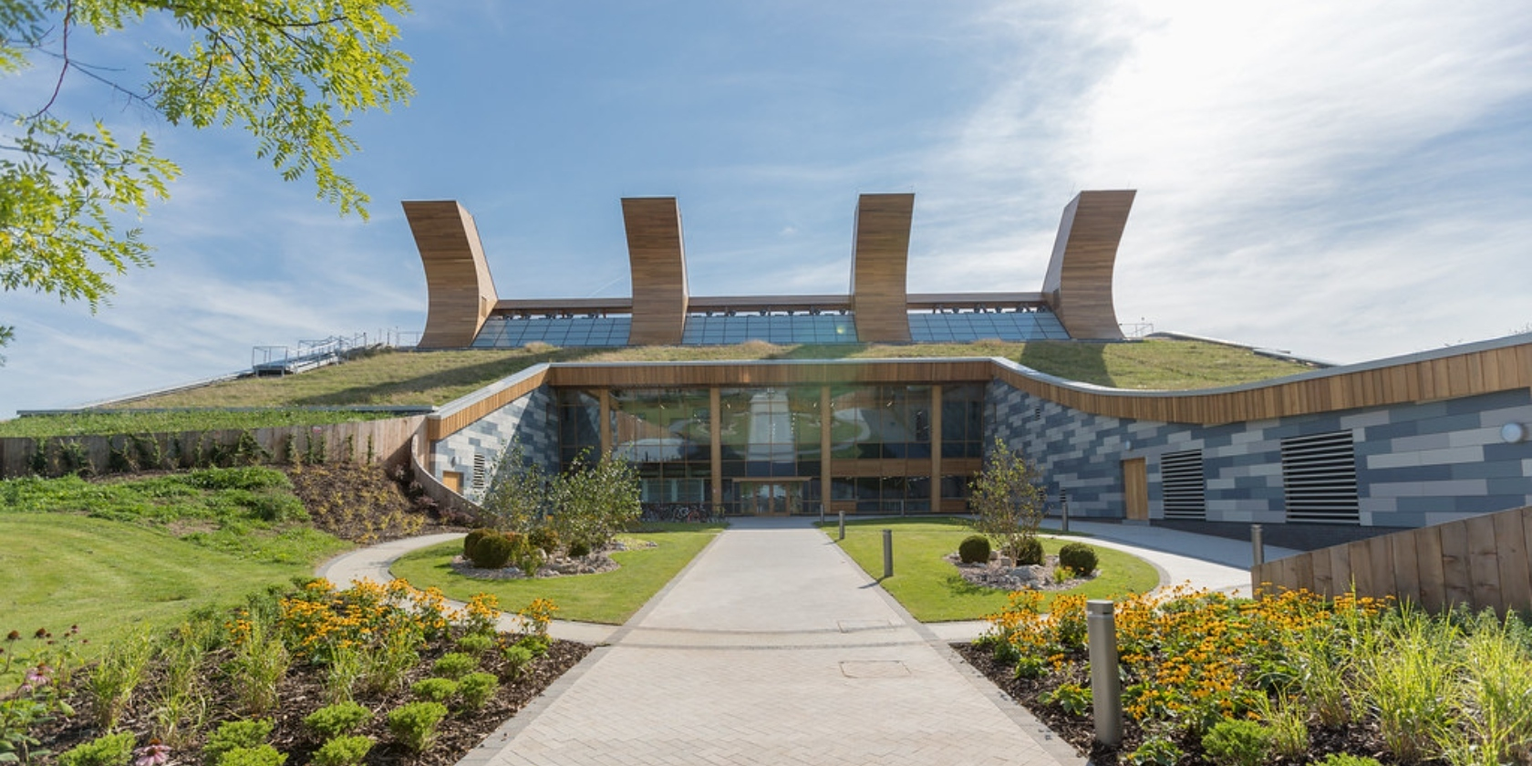 Jubilee campus on a sunny day.