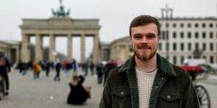 Image of Luke in Berlin