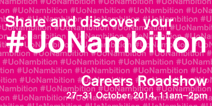 Share and discover your #UoNambition