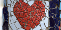 Broken heart - valentine's day article