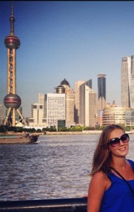 Emmie in Shanghai