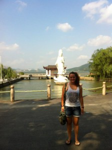 Peggy Hennery in Ningbo