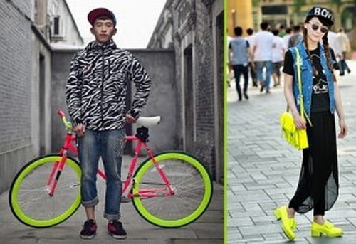 Chinese hipsters
