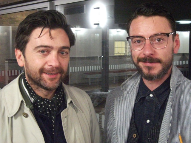 Ben Chatham and Enzo Cilenti at the University of Nottingham, February 2013
