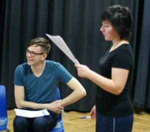 Rehearsals for Golyi Korol'.